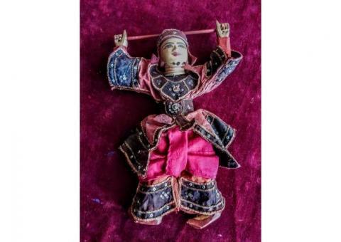 Wooden articulated dolls vintage
