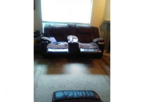 Set of recliner couches