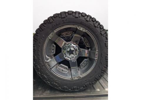 Rims and Tires x4