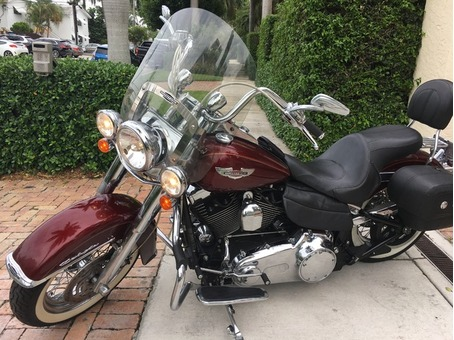 2008 Harley Davidson Softail Deluxe